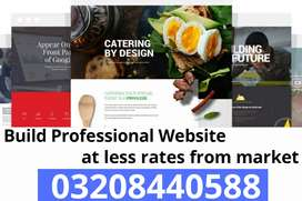 Build your business website and boost your business