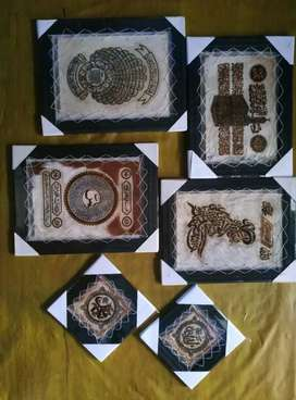 Produsen Kaligrafi Arab Kulit Kambing Utk Wil NTB Bima Mataram