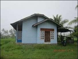 Tanah murah di Lubuk Alung seluas 555m plus rumah seluas 112m