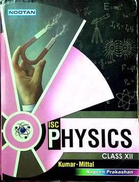 ISC PHYSICS.. CLASS 12..NOOTAN PUBLICATION