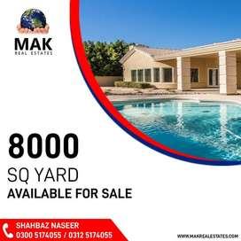 8000,Farm House,For Sale,Bahria Town,Karachi