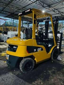 Forklift Caterpillar 2,5 Ton,3 Meter,Manual,S4S,Tahun 2018 (Murah)