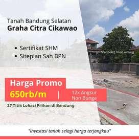 12 X Angsur; Tanah Area Pengembangan Bandung Selatan, Sertifikat SHM