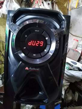 Audionic woofer big sound new model beautifully conditation 10by10