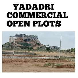 Commercial open plots at yadagirigitta