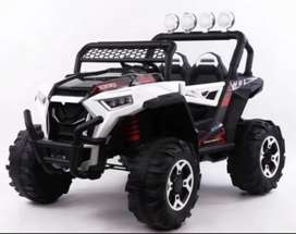 All kinds of imported battery operated cars and bikes are available