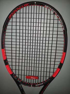 Tennis Racquet-Babolat Pure Strike (Red and Black)
