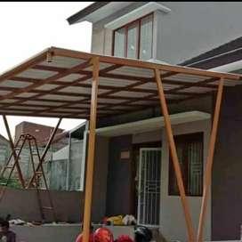 Canopy spandek/booth semi container SN-002