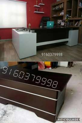 Classy and elegant customised office tables furniture available