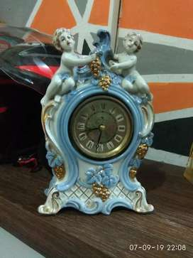Jam meja antik kuno jadul silicon clock transistor japan