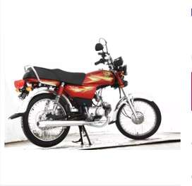 Road Prince Passion 70cc - Red (Lahore Only)