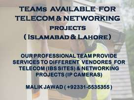 TELECOM & NETWORKING Teams are available