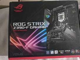 Core i9 9900k with Asus Rog Strix Z390 f gaming motherboard