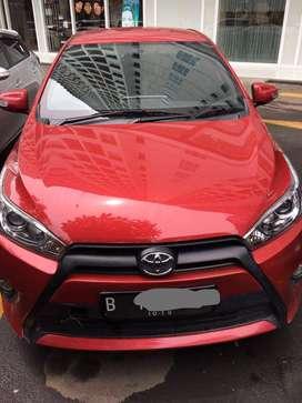 Toyota Yaris G 2014 tangan pertama