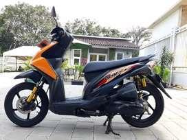 Honda Beat 2012 Fi Orange CBS