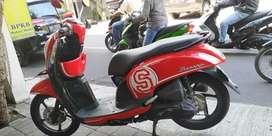 Honda Scoopy 2014 Samsat baru mesin  sehat