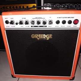 Amplifier orange 8inch custom garansi 1th