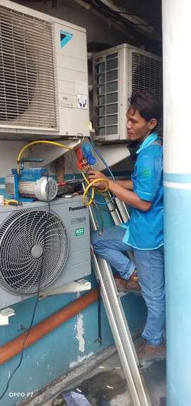 Service ac / kulkas jasa panggilan Jakarta barat