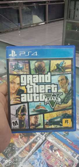BD ps 4 GTA 5 siap pakek