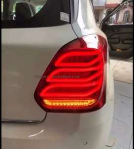 Swift 2018 led tail lights Benz style with Matrix indicators