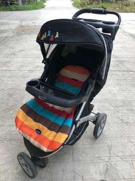 Baby Stroller Pliko Cabino Model BS 688 AL Kondisi Bagus
