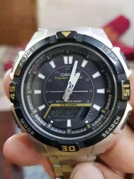 Casio solar power watch