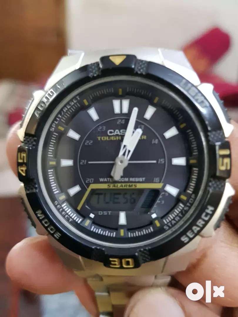 Casio solar power watch 0