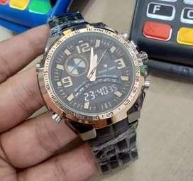 Jam tangan swiss army stock baru dual time fullset barang segel