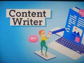 Content Writer for a Website