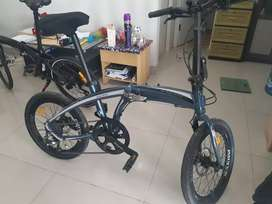 Dijual sepeda lipat SAKONI GALAXY baru beli tanggal 4 agustus 2020