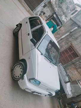 Mehran available for rent with driver