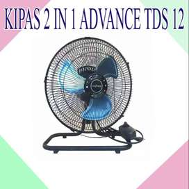 KIPAS ANGIN ADVANCE TDS 12 2 IN 1