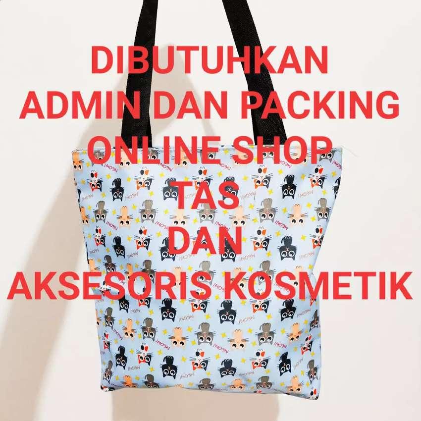 Online Shop PACKING dan ADMIN Olshop Administrasi 0