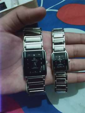 2 beautiful and precious male and female watches urgent sale