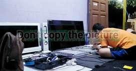 Servis Service TV LED, LCD, Plasma. Panggilan (bergaransi)