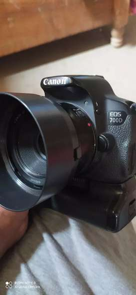 Canon 700d with 50mm prime