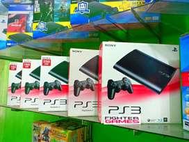 PS3 SuperSlim 160GB Banyak GAME
