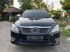Toyota Kijang Innova Inova Bensin AT 2011 Hitam Bisa Kredit - TT