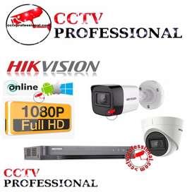 Paket DVR NVR 8 Ch CCTV Eseenet ANALOG AHD HDTVI IP CAMERA - Hitam