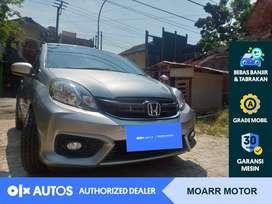 [OLXAutos] Honda Brio Satya 2018 Bensin E M/T Abu #Moarr Motor