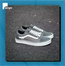 Sepatu Vans LXVI Old Skool Lite Grey Original