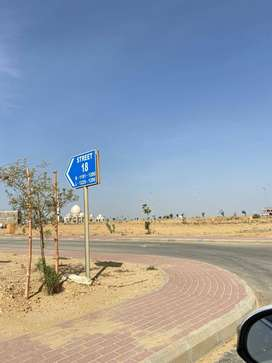 125 sq. yards residential plot available in P-23 on ground plot