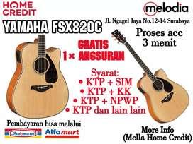 Promo Kredit FSX829C Syarat KTP+SIM di Melodia Musik Surabaya