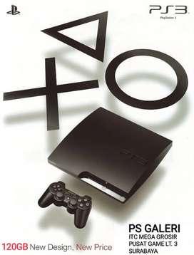 PS3 SLIM 120GB FULL GAME HARGA GROSIR