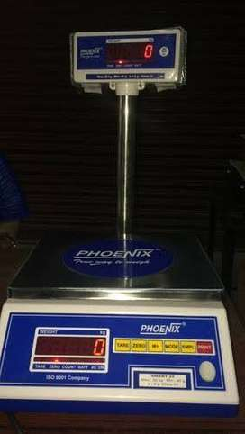 Phonix weight machine 20kg with extra led display cash on delivery