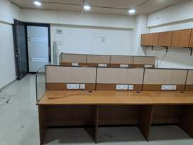 Road Facing One of Best Commercial Office with Cabin and Workstation