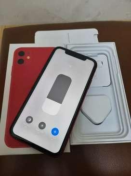 Iphone 11 128gb red mulus istimewa no minus