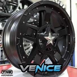 Velg Mobil Vrz Pajero Fortuner Ring 20 Rasta3 HSR Di Venice Medan