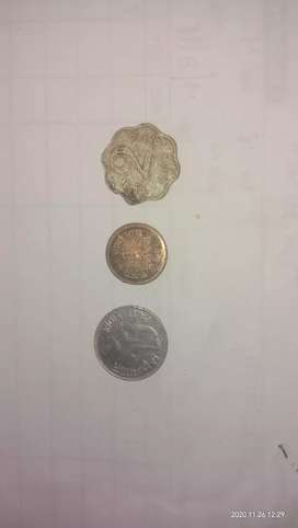 Rare 1 rs 25 paisa 2 paisa coins for sale