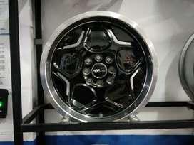 Jual velg mobil racing Ring16 cocok untuk mobilCalya,Brio(bisa Credit)